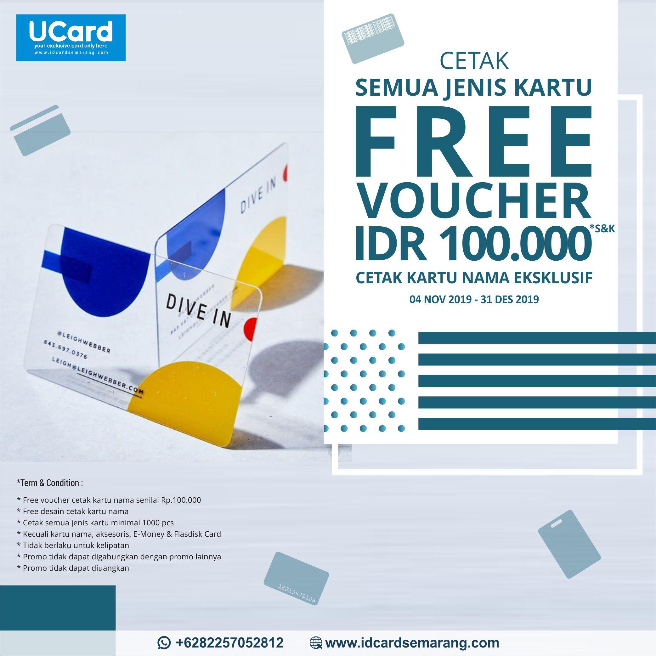 Free Voucher IDR 100.000